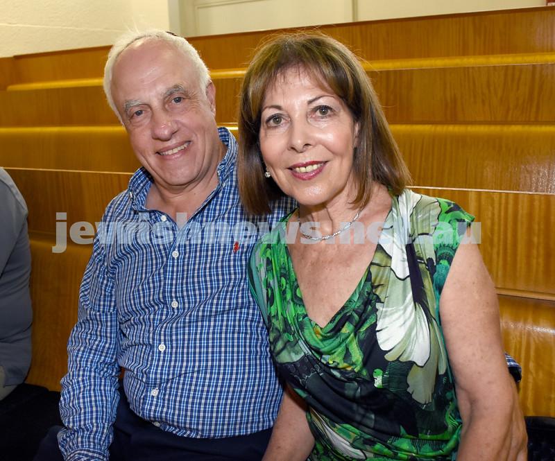 North Shore Synagogue's Classics at Dusk concert. Dereck & Haedene Maltz.