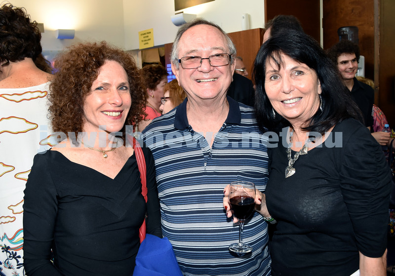 North Shore Synagogue's Classics at Dusk concert. Hilary -Anne Wolfsohn, Hymie & Melanie Rubin.