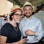 North Shore Synagogue's Classics at Dusk concert. Hinda Young & Rabbi Ben Elton.
