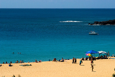 Waimea Bay  North Shore, Oahu, Hawaii