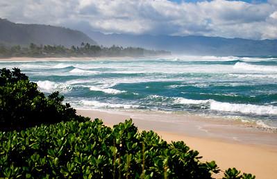 Triple Crown, O'Neill & Roxy Pro Surf Contests, Sunset Beach, North Shore, Oahu, Hawaii, 2007