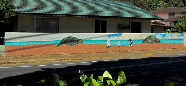 mural Haleiwa Town 2010