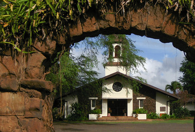Lili'uokalani Church Hale'iwa, North Shore of O'ahu, Hawai'i 2007
