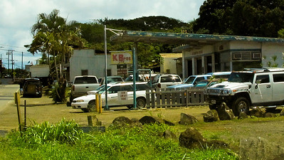 K Brothers Auto repair - been there for 'forever' Haleiwa Town 2010