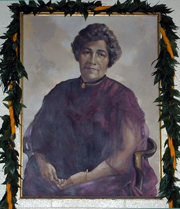 Lili'uokalani Church Queen Lili'uokalani inside the church Hale'iwa, North Shore of O'ahu, Hawai'i