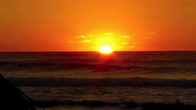 Sunset, North Shore, Oahu, Hawaii