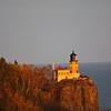 Fall Sunset at Split Rock