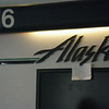 "There, at gate C-9, is a hand-written sign stuck to the Alaska Air logo, which reads ""Yes, this really IS the right gate"".  I didn't get a really good shot of it, but trust me, that's what it says."