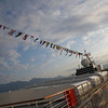 "Our home for the last seven days, the ms Veendam, was all ""decked out"" with her flags aflying when we hit port.<br /> <br /> (I keep saying I'm gonna learn what they all mean and someday I will)"
