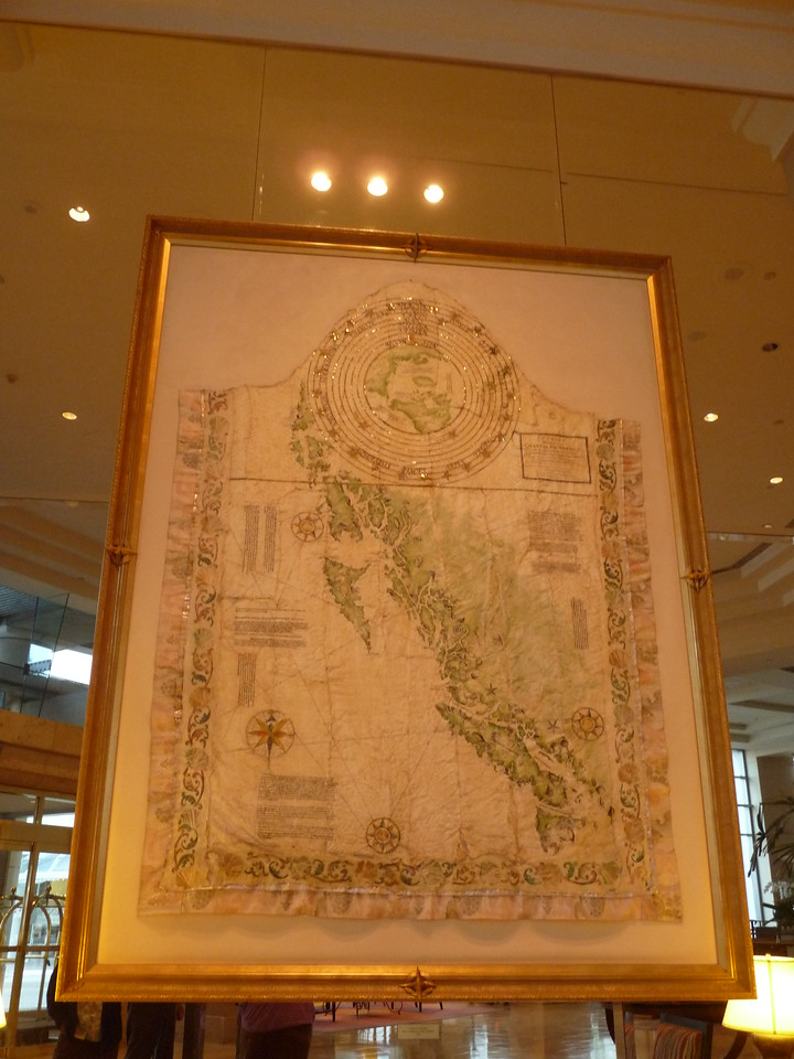 After such an exhausting day atop Grouse Mountain, logging [sic] 12,325 steps by my counter, I was sure glad this map was in the lobby to help us find our way back to our room...<br /> <br /> a good night's sleep is in order, for tomorrow we head for home!