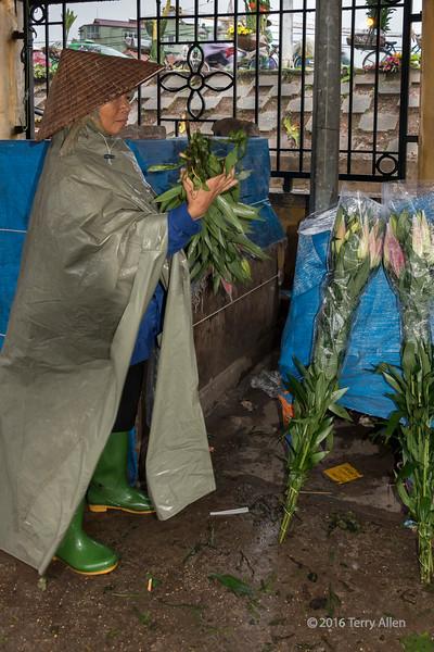 The flower vendor