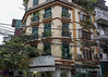 Old French colonial building, central Hanoi, Vietnam