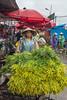 Quang Ba flower market on a rainy day, Hanoi, Vietnam