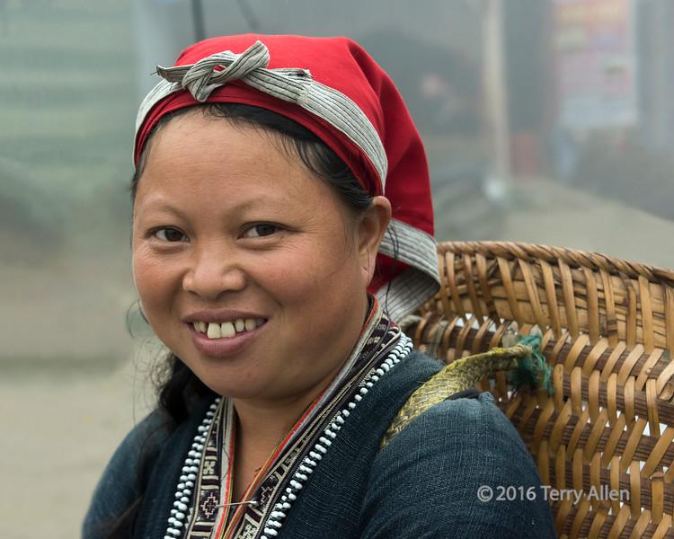 Portrait of a Red Dao woman, Sa Pa, Vietnam