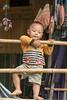 Impish small boy