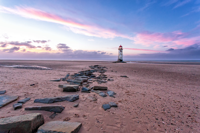 Sunset at Talacre Lighthouse