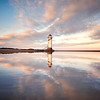 Talacre Lighthouse Reflected