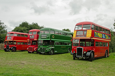 RT1790, RM298, RCL2260 and RTL139 at North Weald