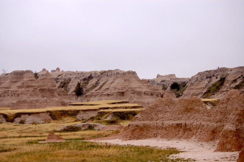Badlands, National Park, SD