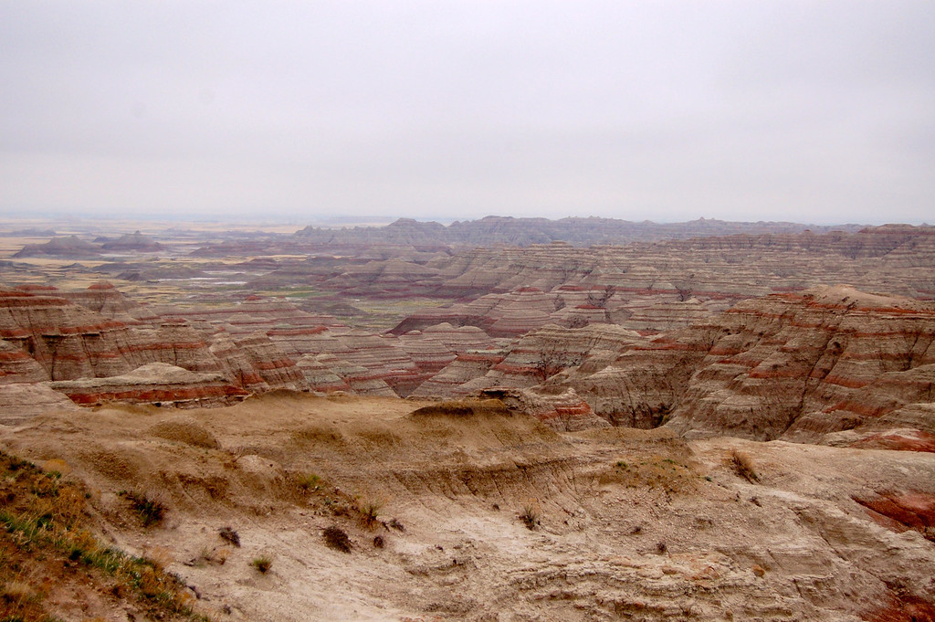 Awesome view at Badlands, NP