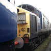 Recently delivered 37087 from Barrow Hill at Booths on 16th Feb 2013