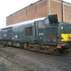 37411 is being picked for parts at Booths on 16th Feb 2013