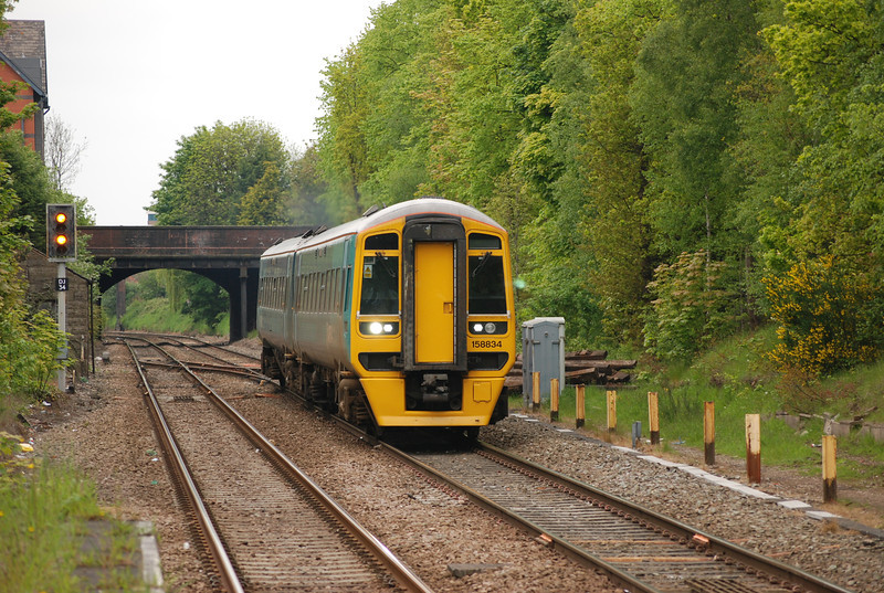158 834 <br /> <br /> Location: Hale <br /> <br /> Date: 20th May 2012 <br /> <br /> Working: ECS to Chester