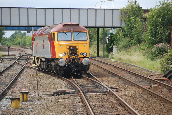 After it came back it sat in the Goods Loop waiting time for the Unit to cross over from Lime st then it departed about 12.10pm back over the Cross over and buzzed it's way back wrong line through platform 2 and headed back towards Newton Le Willows