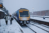 Cleethorpes later in snow