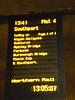 150 145 <br /> <br /> Train indicator board at Manchester Victoria