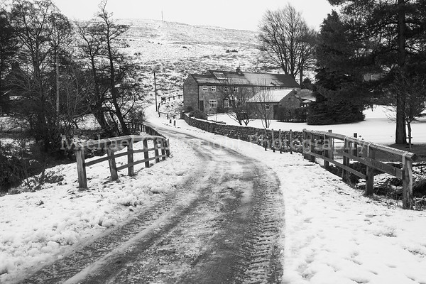 Castleton Winter Scene