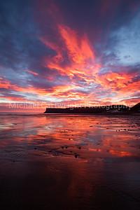 Winter Sunrise at Saltburn (Portrait)