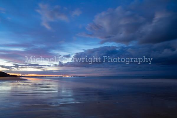Saltburn Beach, Last Light