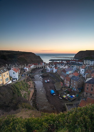 February Morning, Staithes