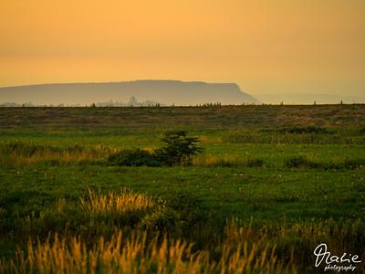 sunset over Blomidon Province Parknova scotia