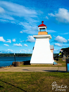 lighthouse in digby