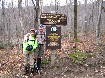 Lorraine and Mike; 9AM at the trailhead.