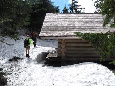 Kinsman Pond Shelter.
