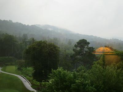 taken from grove park inn, luxury hotel in asheville