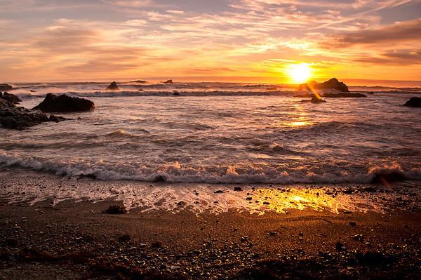 Cape Mendocino Sunset, Humboldt County, CA
