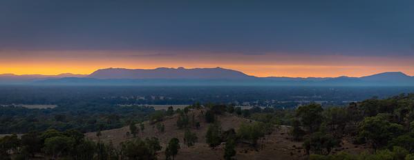 Early Morning Over Wangaratta