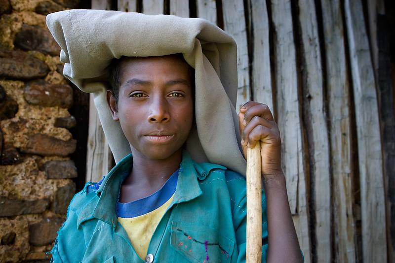 Shepherd near Bahar Dar