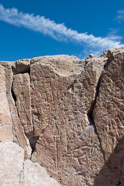 Fly Over State Petroglyph, New Mexico