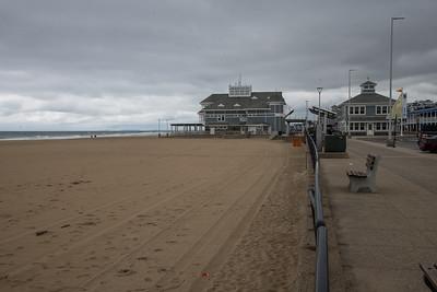 Nostalgia: Pamela's  family's vacation town in Hampton, New Hampshire, pre-season.