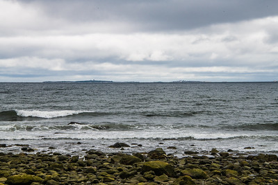 """Tiny group of islands named Isles of Shoals, off shore from Rye, NH, in 1614 by John Smith  who first called this coast """"New England""""."""