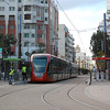 A pair of Alstom Citadis trams at Gare de Casa-Voyageurs in Casablanca on the 30th December 2012.
