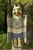 Eagle Grave Marker totem pole at Totem Bight State Historical Park