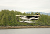A de Havilland Canada DHC-3T Turbo Otter is a common float plane in Alaska.