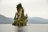 New Eddystone Rock is a pillar of basalt.