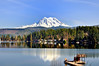 Mount Rainer from Clear Lake
